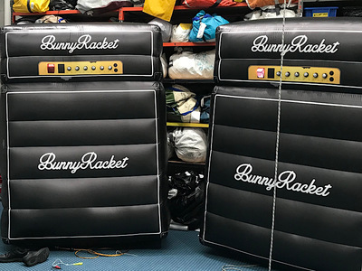 Bunny Racket Inflatable Stage Amps Props