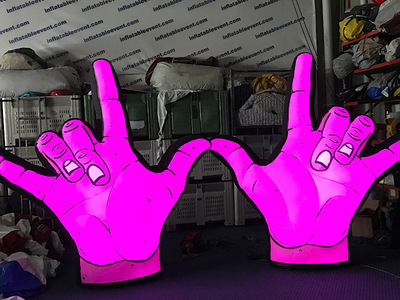 Dune Rats Inflatable Hands Stage props