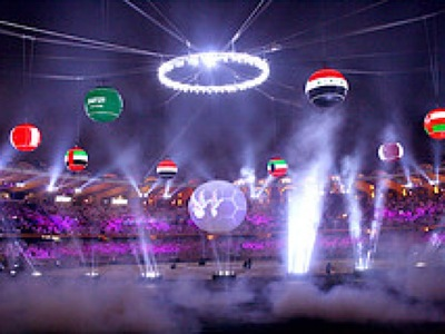 Arabian Cup Inflatable Opening Ceremony
