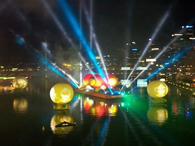 Australia Dary Darling Harbour Projection Spheres