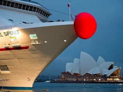 Carnival Cruise Red Nose Sydney Harbour
