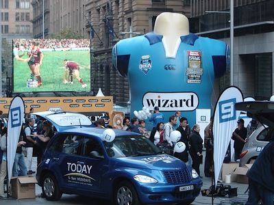 NSW State of Origin Inflatable Jersey