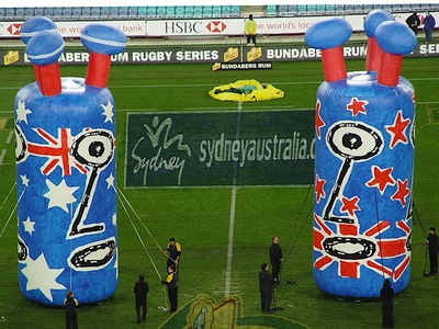 Rugby Union Inflatable one eyed Fans